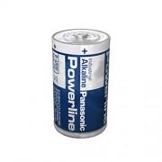 Алкална батерия Panasonic Alkaline LR20AD/B - 1.5V / D