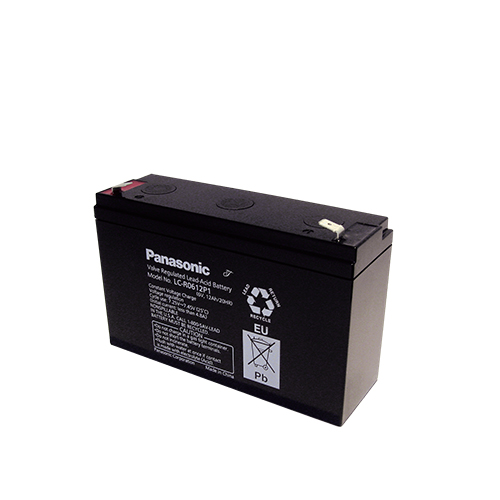 Акумулатор Panasonic LC-R0612P - 12 Ah / 6 V