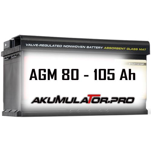 AGM Акумулатори 80 - 105 Ah