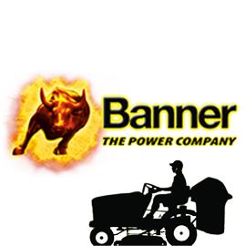 BANNER Акумулатори за градински косачки