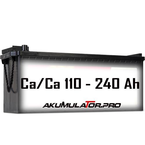 Акумулатори SHD 110 - 240 Ah