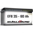 EFB Акумулатори 35- 60 Ah