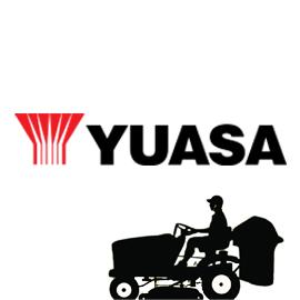 YUASA Акумулатори за градински косачки