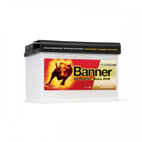 Акумулатор BANNER RUNNING BULL EFB 57000 - 70 Ah R+