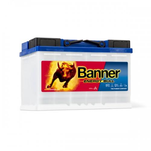 Акумулатор BANNER EnergyBull 95601 - 80 Ah(K20) - 60 Ah(K5) R+