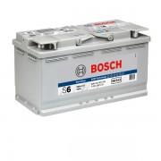 Акумулатор BOSCH S6 AGM 0092S60130 - 95 Ah R+