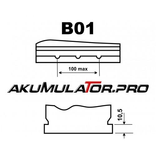 Акумулатор BANNER PowerBull P8009 JIS 80Ah 640A R+