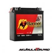 Акумулатор BANNER YTX20CH-BS 12V 18Ah L+