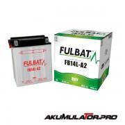 Акумулатор FULBAT FB14L-A2 12V 14Ah R+