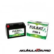 Акумулатор FULBAT FT9B-4 SLA 12V 8Ah L+