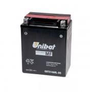 Акумулатор UNIBAT CBTX14AHL-BS-12V / 12Ah / R+