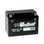 Акумулатор UNIBAT CBTX15L-BS-12V / 13Ah / R+