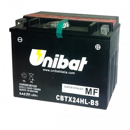 Акумулатор UNIBAT CBTX24HL-BS-12V / 21Ah / R+