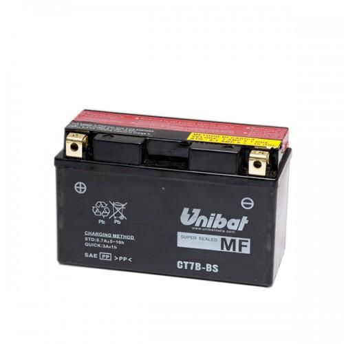 Акумулатор UNIBAT CT7B-BS-12V / 6.5Ah / L+