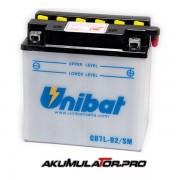 Акумулатор UNIBAT CB7L-B2-SM-12 V / 8 Ah R+