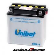 Акумулатор UNIBAT CB9L-B-SM - 12 V / 9 Ah R+