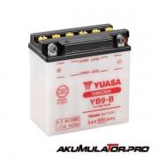 Акумулатор YUASA YB9-B12V 9.5Ah L+