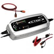 Зарядно CTEK MXS10 12V / 10A + Кабел + Щипки с индикатор