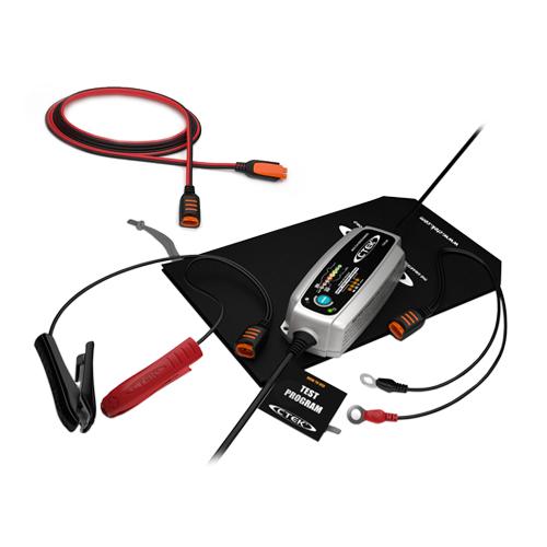 Зарядно CTEK MXS5.0 TEST&CHARGE 12V / 5.0A  + Кабел - удължител 2,5 m