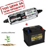 Зарядно NOCO G3500 3.5A 6/12V с акумулатор ELECTRA 60H19 60Ah 540A R+