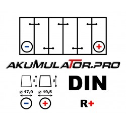 Акумулатор BANNER RUNNING BULL AGM 59201 - 92 Ah R+
