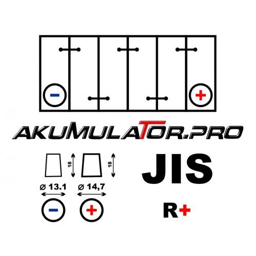 Акумулатор BANNER PowerBull P4026 (JIS/Asia R+) - 40 Ah